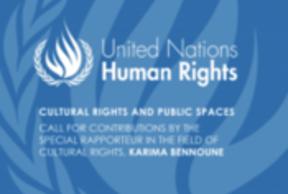 Llamado a contribuciones: Derechos culturales y espacios públicos