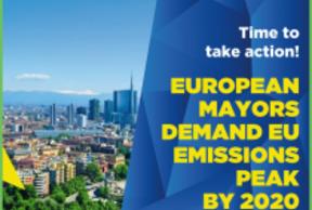 210 European mayors demand to reach net-zero EU emissions by 2050