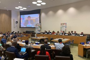 President UCLG-Eurasia took the floor at the UNGA