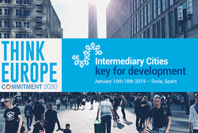 Think Europe-Commitment 2030:  Intermediary Cities, key for development