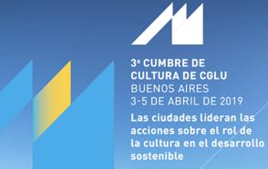 Cumbre de Cultura y Bureau Ejecutivo de CGLU: Las ciudades lideran acciones de cultura en el desarrollo sostenible