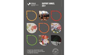 CGLU Rapport Annuel 2017