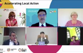 Les Local4Action HUBs et la relance au Forum politique de haut niveau (FPHN) 2021 : Présenter et synchroniser les pratiques et initiatives locales sur la durabilité comme levier pour l