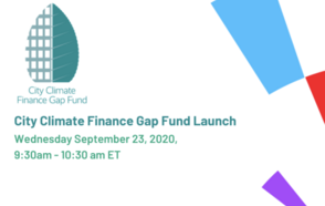 Launch of the City Climate Finance Gap Fund Launch
