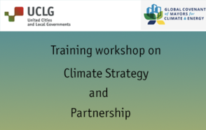 Training workshop on Climate Strategy and Partnership