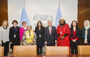 UCLG delegation meeting UN Secretary General