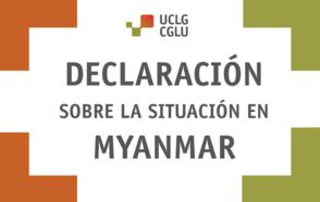 Declaración sobre la situación en Myanmar