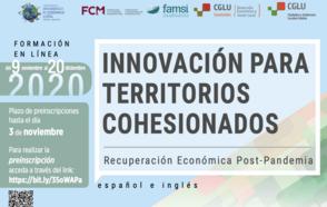 Curso en línea sobre DEL : Innovación para territorios cohesionados Recuperación Económica Post Pandemia #BeyondTheOutbreak