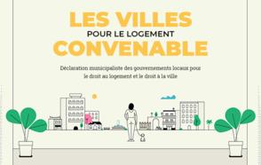 Les villes pour le logement convenable : un appel à l