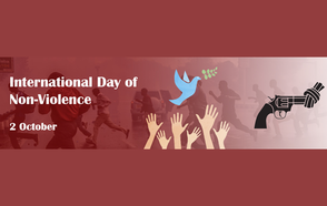 International Day of Non-Violence 2 October