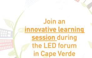 Do not miss the innovative Learning Session at the World Forum on Local Economic Development