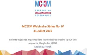 Webinaire « Enfants et jeunes migrants en territoires urbains : pour une approche inclusive des mineurs étrangers non accompagnés (MENA) »