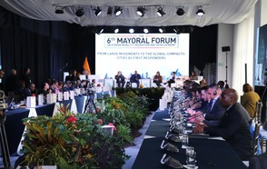 Local governments forge spaces for dialogue with national governments at the Global Forum on Migration and Development