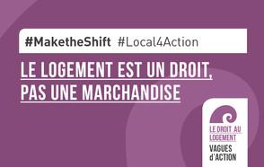 #MaketheShift