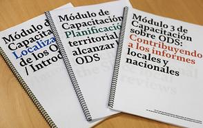 ¡Ahora en español! - Publicados todos los módulos de capacitación para localización de los ODS