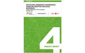 Multilevel Emergency Governance: Enabling Adaptive and Agile Response  #PB04