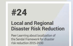 Lanzamiento de la Nota de aprendizaje entre pares 24 sobre la reducción del riesgo de desastres a nivel local y regional.