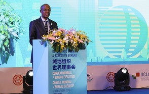President Parks Tau renews the commitment of the UCLG network to contribute to the global agendas