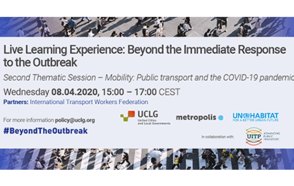 Mobility, a cornerstone of public services in the midst of the COVID-19 pandemic