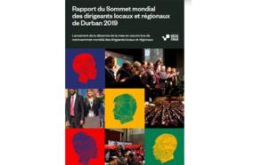 Rapport du Sommet mondial des dirigeants locaux et régionaux Durban 2019