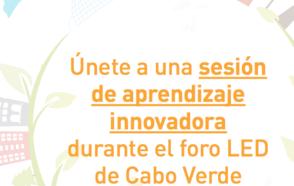 No se pierdan la Sesión de aprendizaje innovadora en el Foro Mundial sobre Desarrollo Económico Local