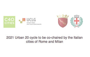 2021 Urban 20 cycle to be co-chaired by the Italian cities of Rome and Milan