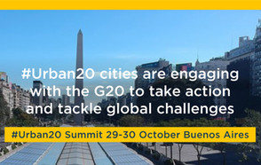 U20: 25 cities commit to work with the G20 in response to major global challenges