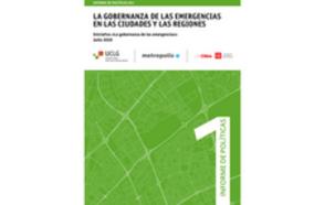 La Gobernanza de las emergencias de las ciudades y las regiones Informe de Políticas #01