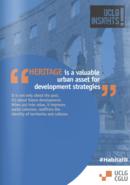 Patrimonio : el legado cultural como motor de la sostenibilidad