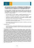 Declaración de los alcaldes y autoridades locales sobre el agua México. 2006