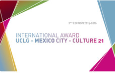 International Award UCLG - MEXICO City - Culture 21