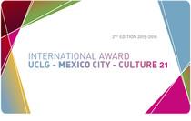 International Award UCLG - MEXICO City - Culture 21
