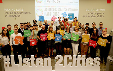 "UCLG supported the #Act4SDGs campaign and encouraged its members to ""act for SDGs""!"