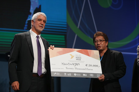 Premio CGLU Ciudad de Bogotá por la Paz
