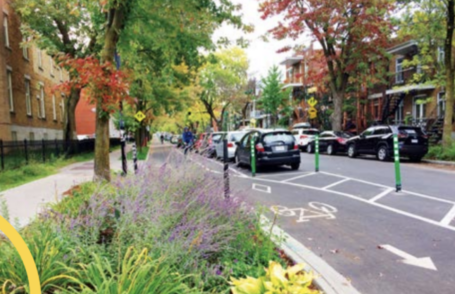 Rosemont-La Petite-Patrie (Montreal) : collaborations cycling and soft mobility
