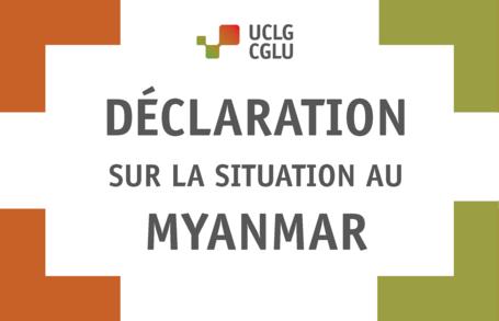 Déclaration sur la situation au Myanmar