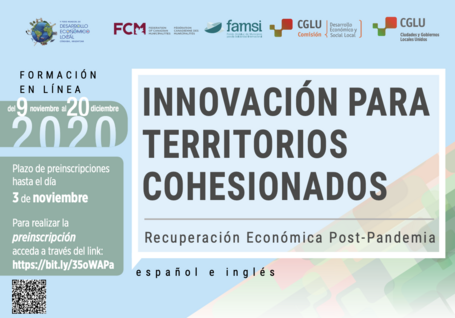 Online training on LED: IInnovation for cohesive territories Post Pandemic Recovery #BeyondTheOutbreak