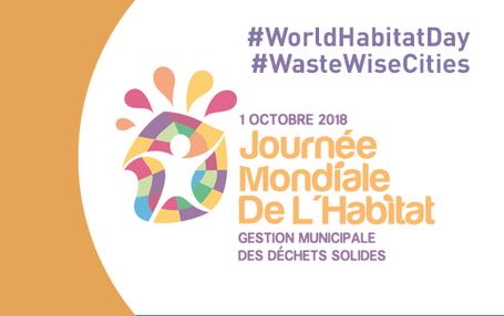 La Jounée mondiale de l'Habitat donne le coup d'envoi du mois d'octobre urbain