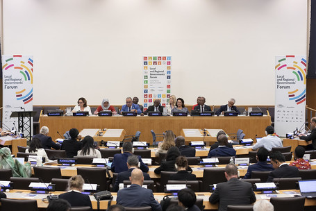 A transformational change for the people and the planet from cities and regions at the 2nd Local & Regional Governments Forum