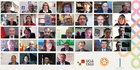 """Facilitating a """"Pact for the Future"""": The role of the International Municipal and Regional Movement powered by UCLG"""
