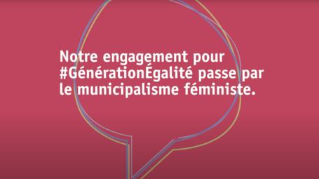 CGLU et le mouvement municipal féministe s'engagent pour Génération Égalité