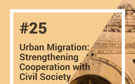 Launch of the Peer Learning Note 25: Urban Migration in the Mediterranean - Local Governments and Civil Society