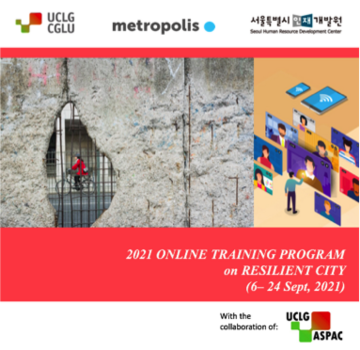 Beginning of Resilient City learning programme