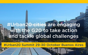 25 cities commit to work with the G20 in response to major global  challenges