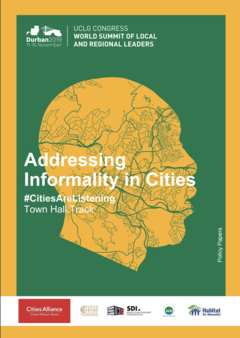 Addresing informalities in Cities