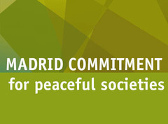 Madrid's commitment to peaceful cities