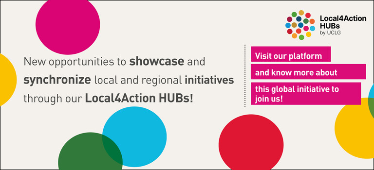 New opportunities to showcase and synchronize local sustainability initiatives through our Local4Action HUBs initiative!