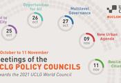 Les Conseils politiques sont des mécanismes d'élaboration de politiques au sein de CGLU qui sont dirigés par des élu·e·s locaux. Ils permettent de renforcer le débat politique de notre Organisation mondiale et d'élaborer des recommandations politiques en rapport avec des sujets stratégiques.