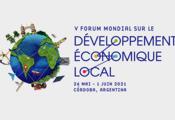 Les inscriptions sont maintenant ouvertes!  Le V Forum Mondial du Développement Économique Local se tient à Cordoue