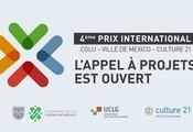 L'appel à candidature pour le Prix International CGLU – Ville de Mexico – Culture 21 est ouvert !